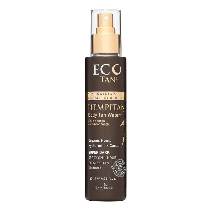 Eco Tan Hempitan Body Tan Water - Organic Hemp Tanning Water 125mL - Vital Pharmacy Supplies