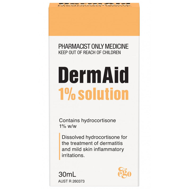 Ego Dermaid 1% Solution 30mL (S3) - Vital Pharmacy Supplies
