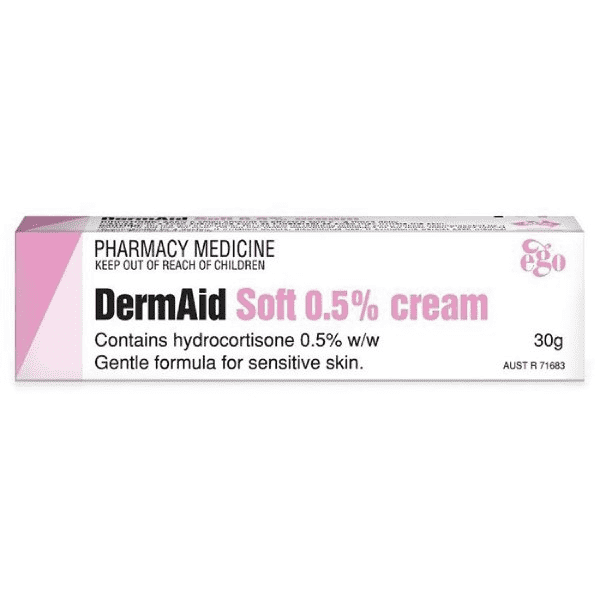 Ego DermAid Soft 0.5% Cream 30g - Vital Pharmacy Supplies