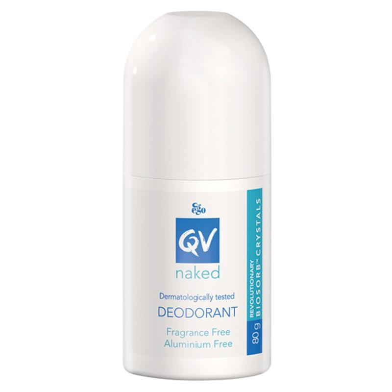 Ego QV Naked Deodorant Roll On 80g - Vital Pharmacy Supplies