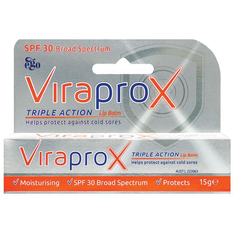 Ego Viraprox Lip Balm 15g - Vital Pharmacy Supplies