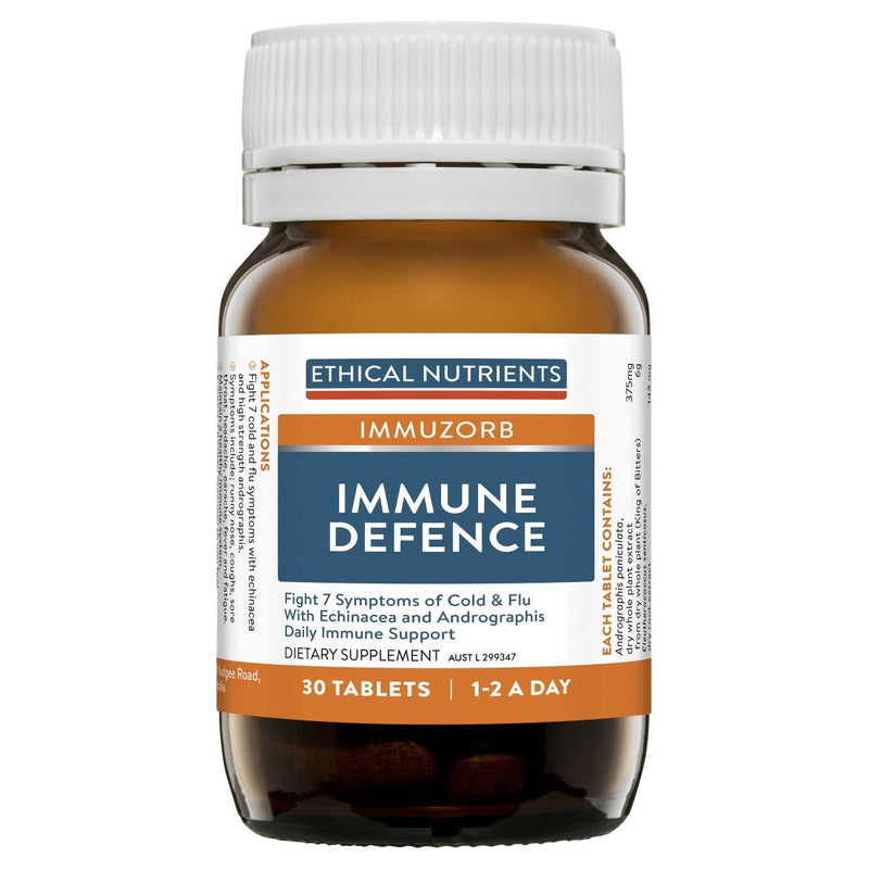 Ethical Nutrients Immuzorb Immune Defence 30 Tablets - Vital Pharmacy Supplies