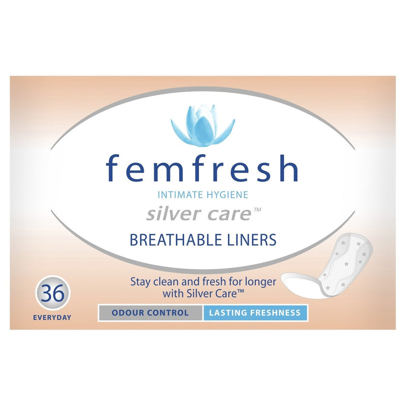 Femfresh Breathable Liners 36 Pack - Vital Pharmacy Supplies