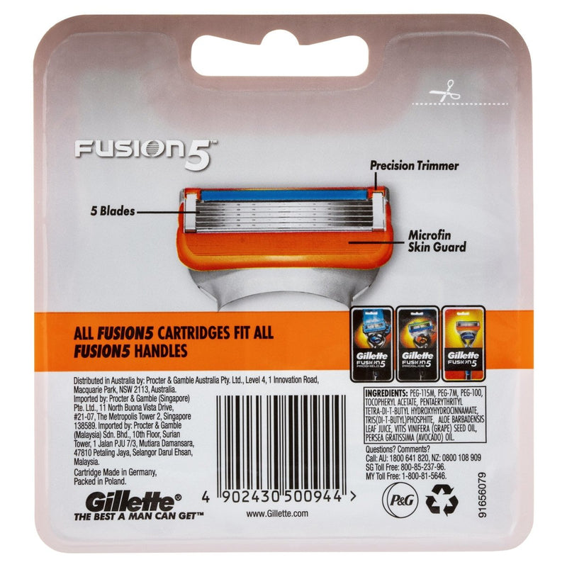 Gillette Fusion5 Cartridges 8 Pack - Vital Pharmacy Supplies