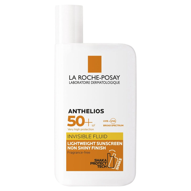 La Roche-Posay Anthelios Invisible Fluid Facial Sunscreen SPF 50+ 50mL - Vital Pharmacy Supplies