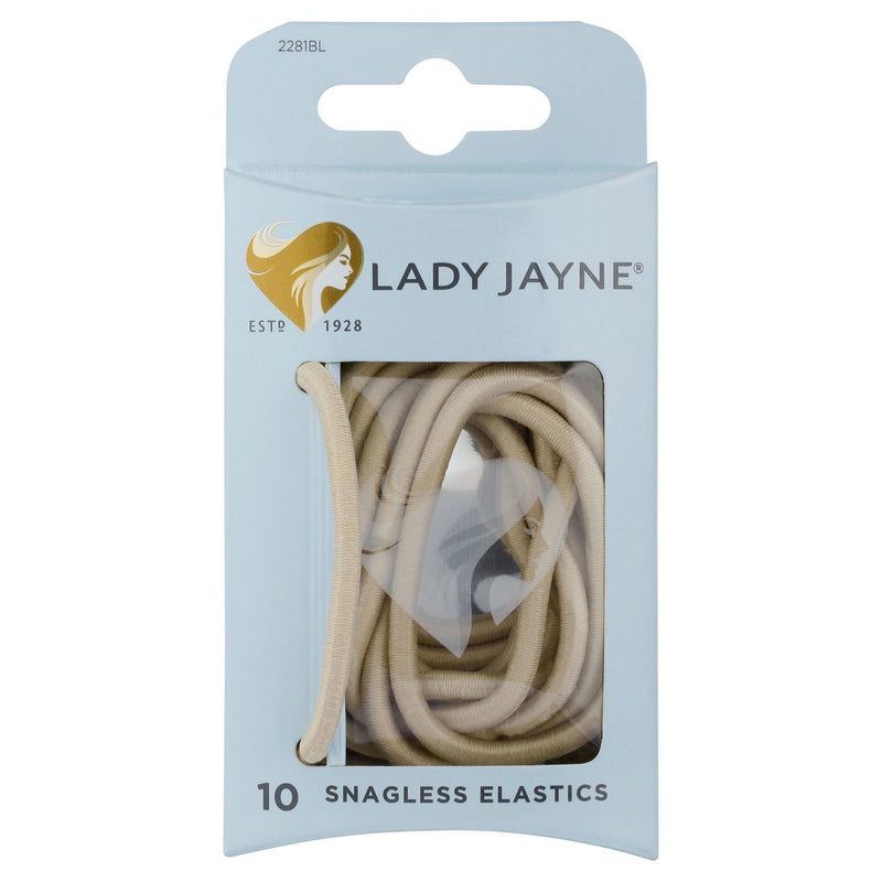 Lady Jayne Snagless Thick Elastics 10 Pack - Vital Pharmacy Supplies