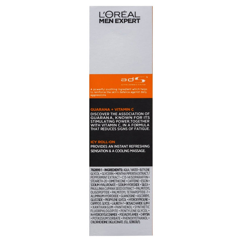 Loreal Paris Men Expert Hydra Energetic Cool Eye Roll-On - Vital Pharmacy Supplies