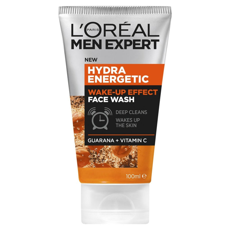 Loreal Paris Men Expert Hydra Energetic Wake-Up Effect Wash 100mL - Vital Pharmacy Supplies