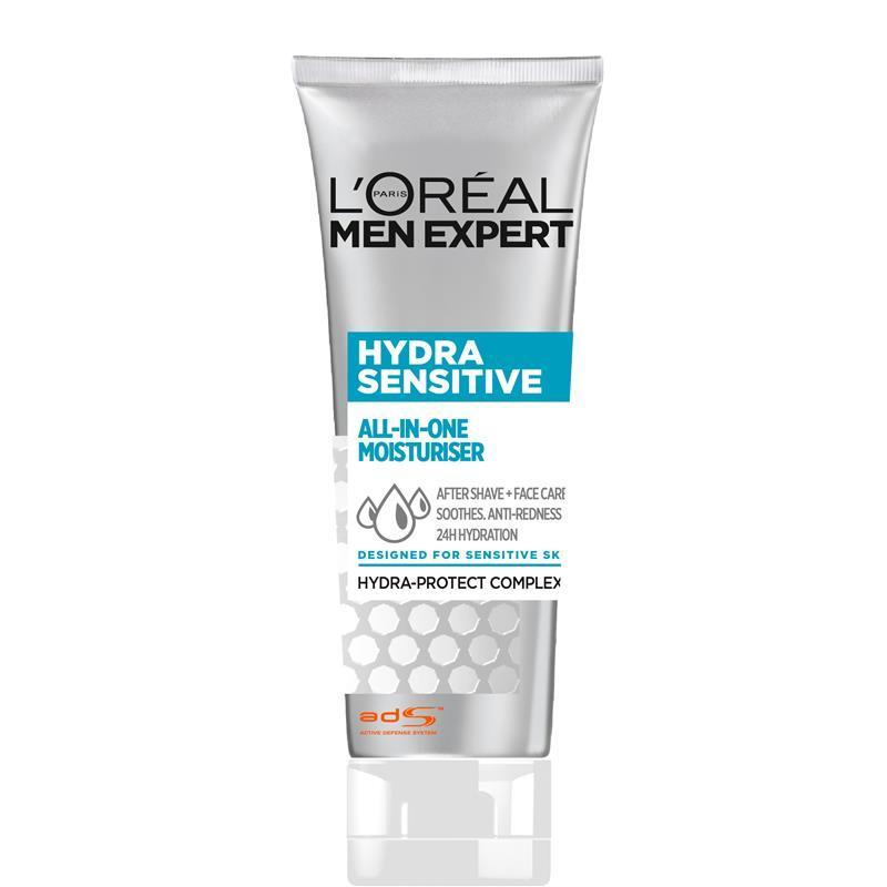 Loreal Paris Men Expert Hydra Sensitive All-in-One Moisturiser 75mL - Vital Pharmacy Supplies