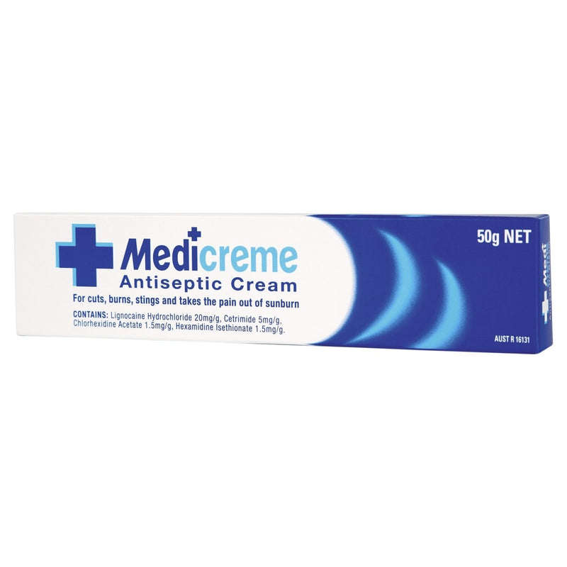 Medi Creme Antiseptic 50g - Vital Pharmacy Supplies