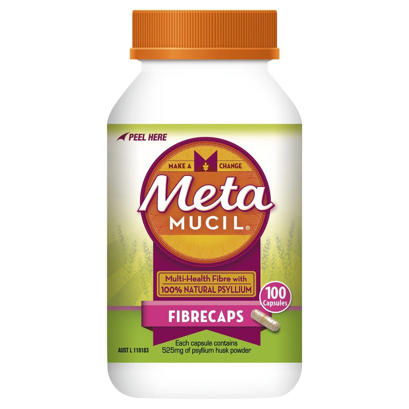 Metamucil Daily Fibre Supplement 100 Caps - Vital Pharmacy Supplies