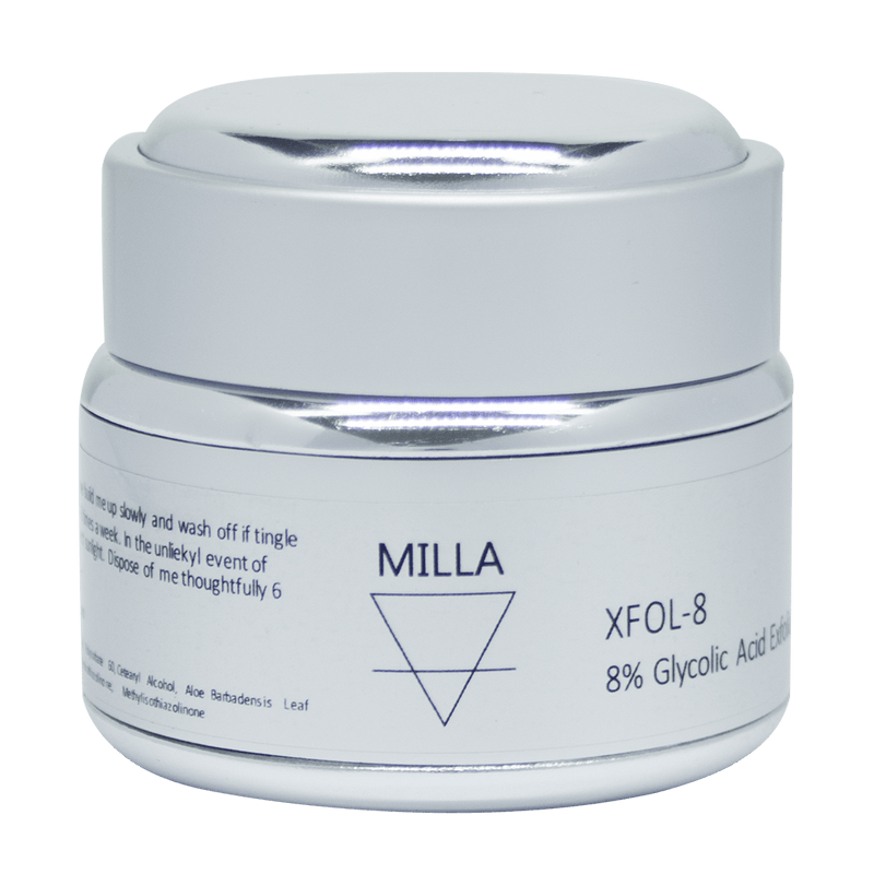 Milla Face Xfol-8 8% Glycolic Acid Exfoliating Scrub 50g - Vital Pharmacy Supplies