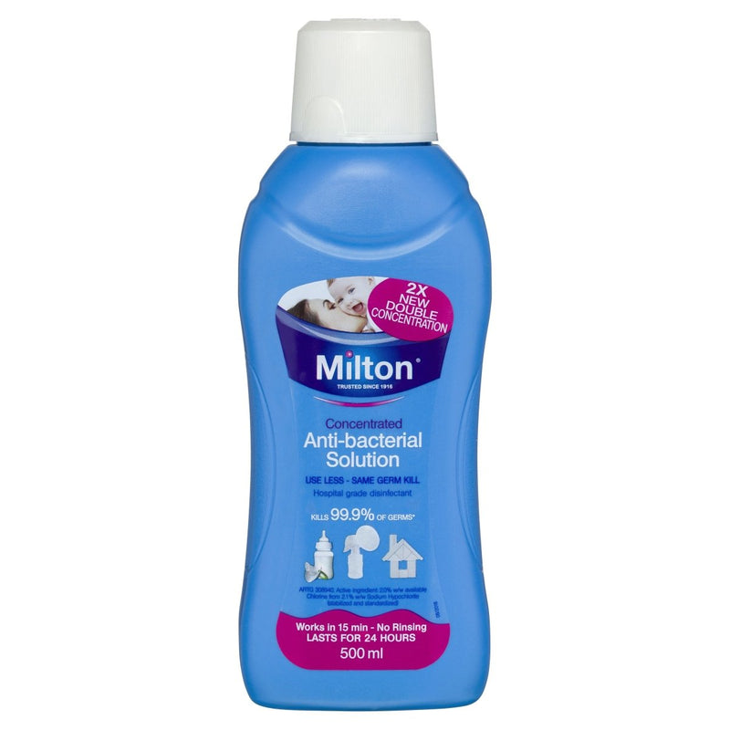 Milton Concentrated Antibacterial Solution 500mL - Vital Pharmacy Supplies