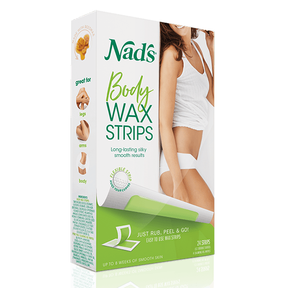 Nad's Hair Removal Body Wax Strips Normal Skin