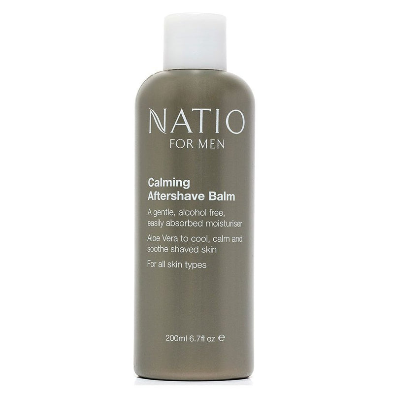 Natio For Men Calming Aftershave Balm 200mL - Vital Pharmacy Supplies