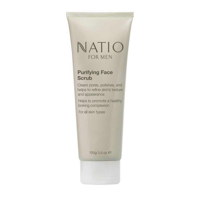 Natio for Men Purifying Face Scrub 100g - Vital Pharmacy Supplies