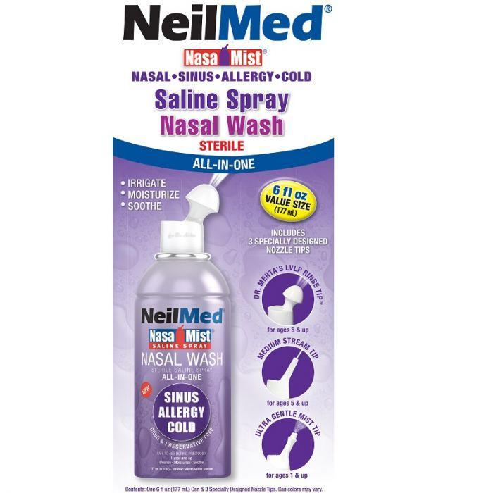 NeilMed NasaMist All in One - Vital Pharmacy Supplies