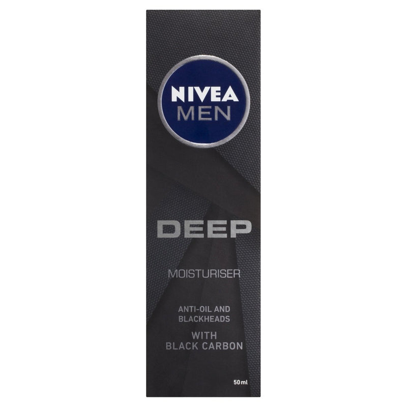Nivea Men Deep Moisturiser 50mL - Vital Pharmacy Supplies
