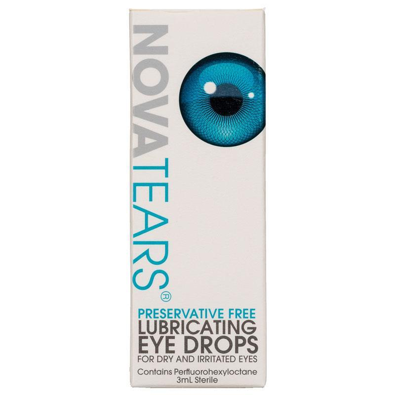 NovaTears Lubricating Eye Drop 3mL - Vital Pharmacy Supplies