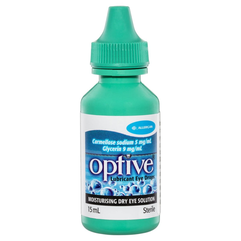 Optive Lubricant Eye Drops 15mL - Vital Pharmacy Supplies