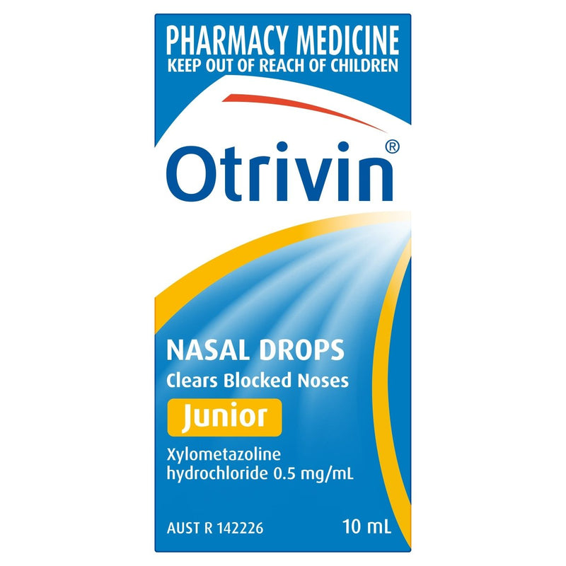 Otrivin Junior Nasal Drops 10mL - Vital Pharmacy Supplies