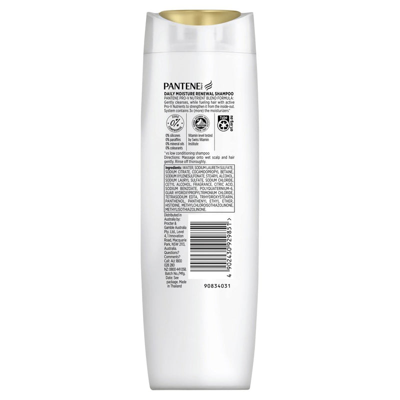 Pantene Pro-V Moisture Renewal Shampoo 375mL - Vital Pharmacy Supplies
