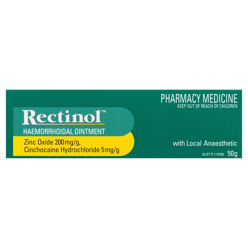 Rectinol Haemorrhoidal Ointment 50g - Vital Pharmacy Supplies