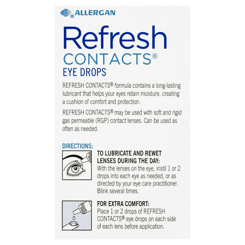 Refresh Contacts Eye Drops 15mL - Vital Pharmacy Supplies