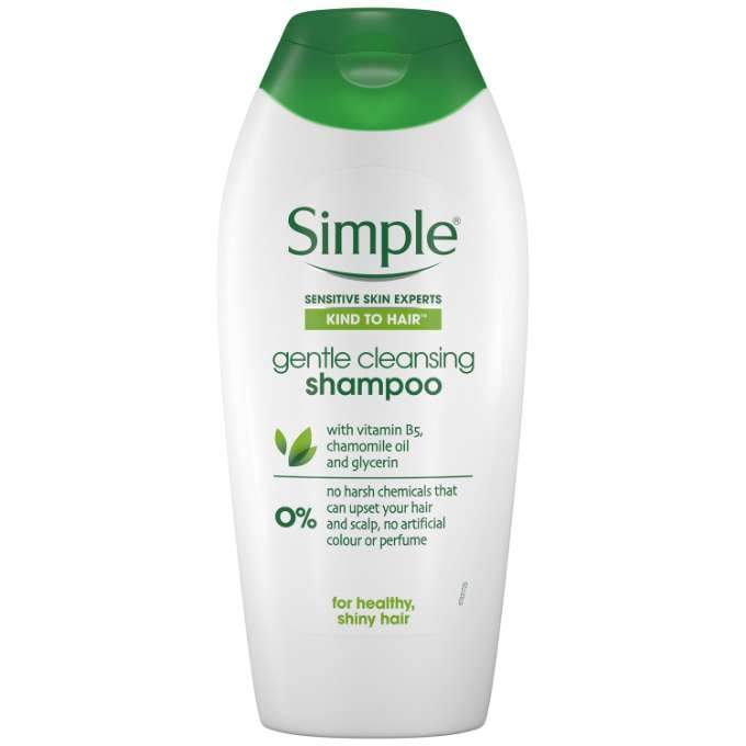 Simple Kind to Hair Gentle Care Shampoo 200mL - Vital Pharmacy Supplies