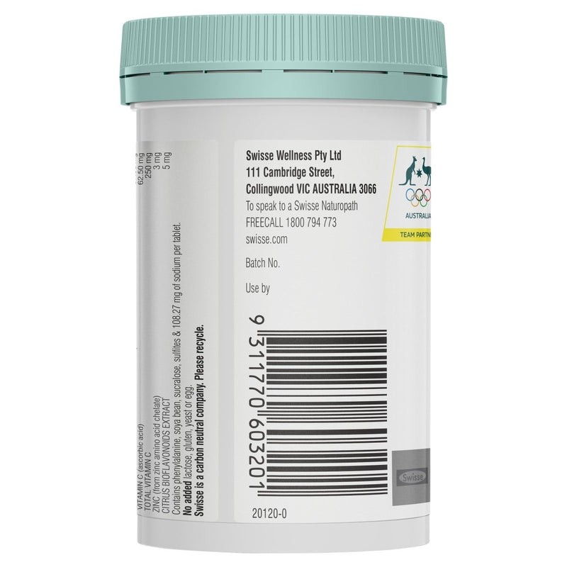 Swisse Kids Immune Health 60 tablets - Vital Pharmacy Supplies