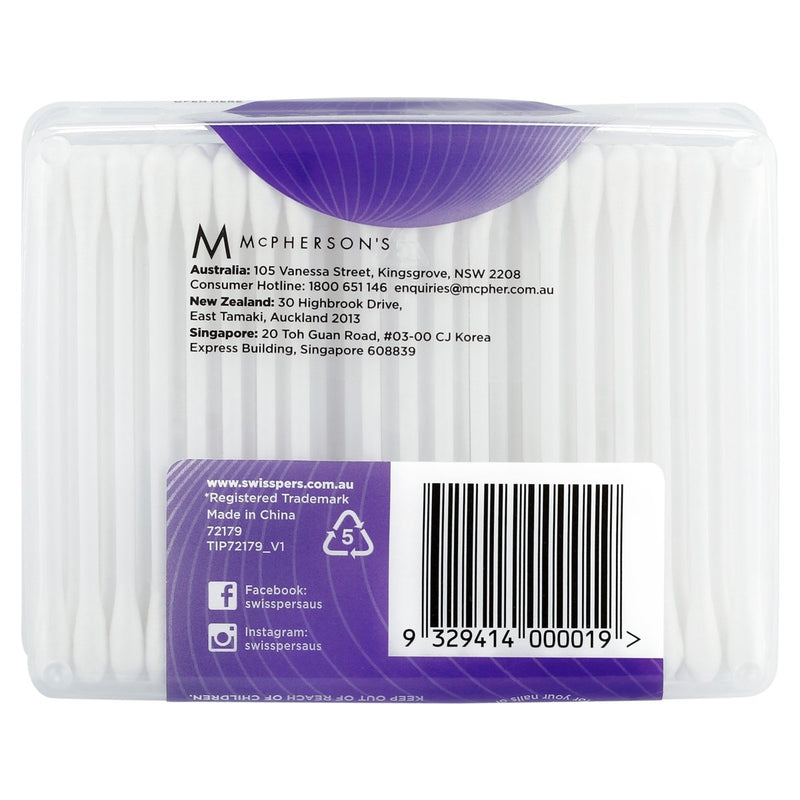 Swisspers Cotton Tips 240 Pack - Vital Pharmacy Supplies
