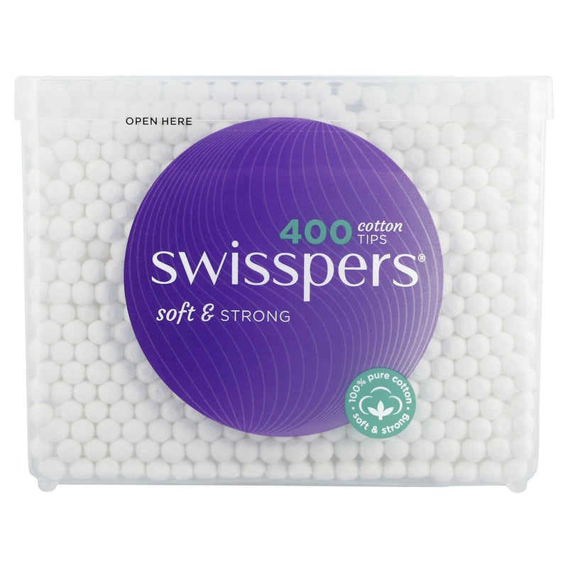 Swisspers Cotton Tips 400 Pack - Vital Pharmacy Supplies