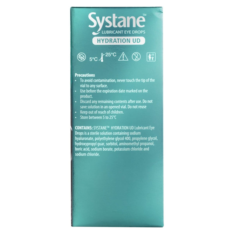Systane Hydration UD 30 Pack x 0.7mL - Vital Pharmacy Supplies
