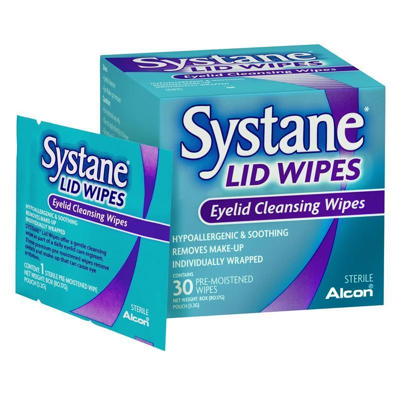 Systane Lid Wipes 30 Pack - Vital Pharmacy Supplies