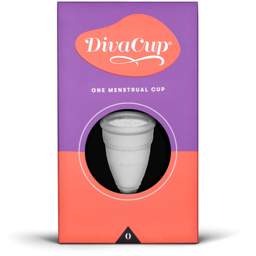 The DivaCup Menstrual Cup Model 0 - Vital Pharmacy Supplies
