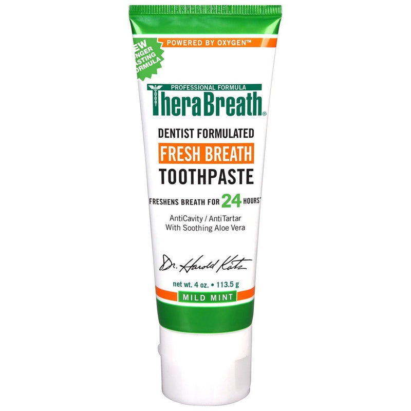 TheraBreath Fresh Breath Toothpaste 113g - Vital Pharmacy Supplies