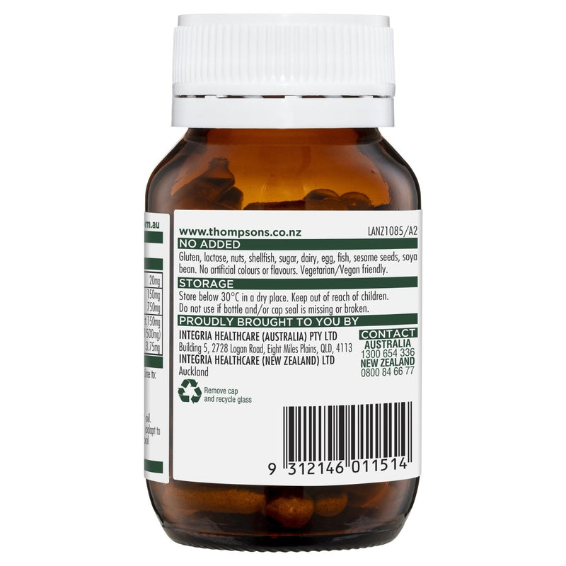 Thompson's Ashwagandha Complex Night 60 Tablets - Vital Pharmacy Supplies