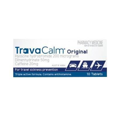 TravaCalm Original 10 Tablets - Vital Pharmacy Supplies