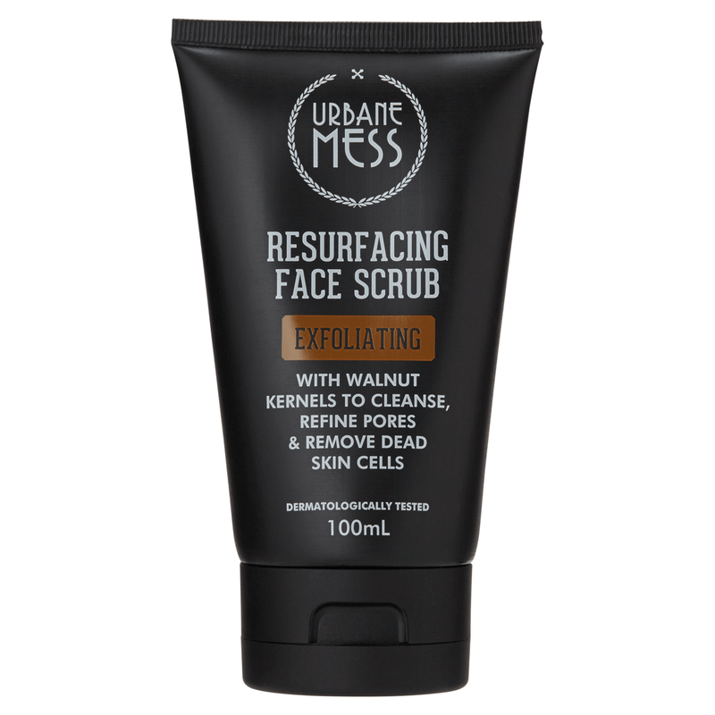 Urbane Mess Resurfacing Face Scrub 100mL - Vital Pharmacy Supplies