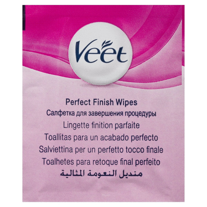 Veet Easy Grip Wax Strips Hair Removal 40 Pack - Vital Pharmacy Supplies