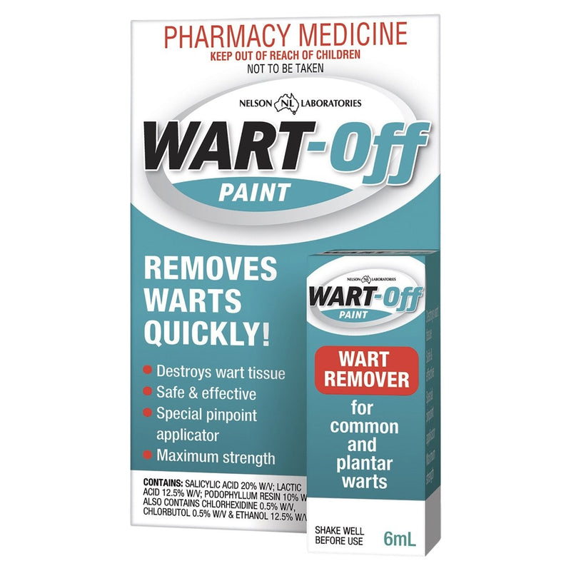 Wart Off Paint 6mL - Vital Pharmacy Supplies