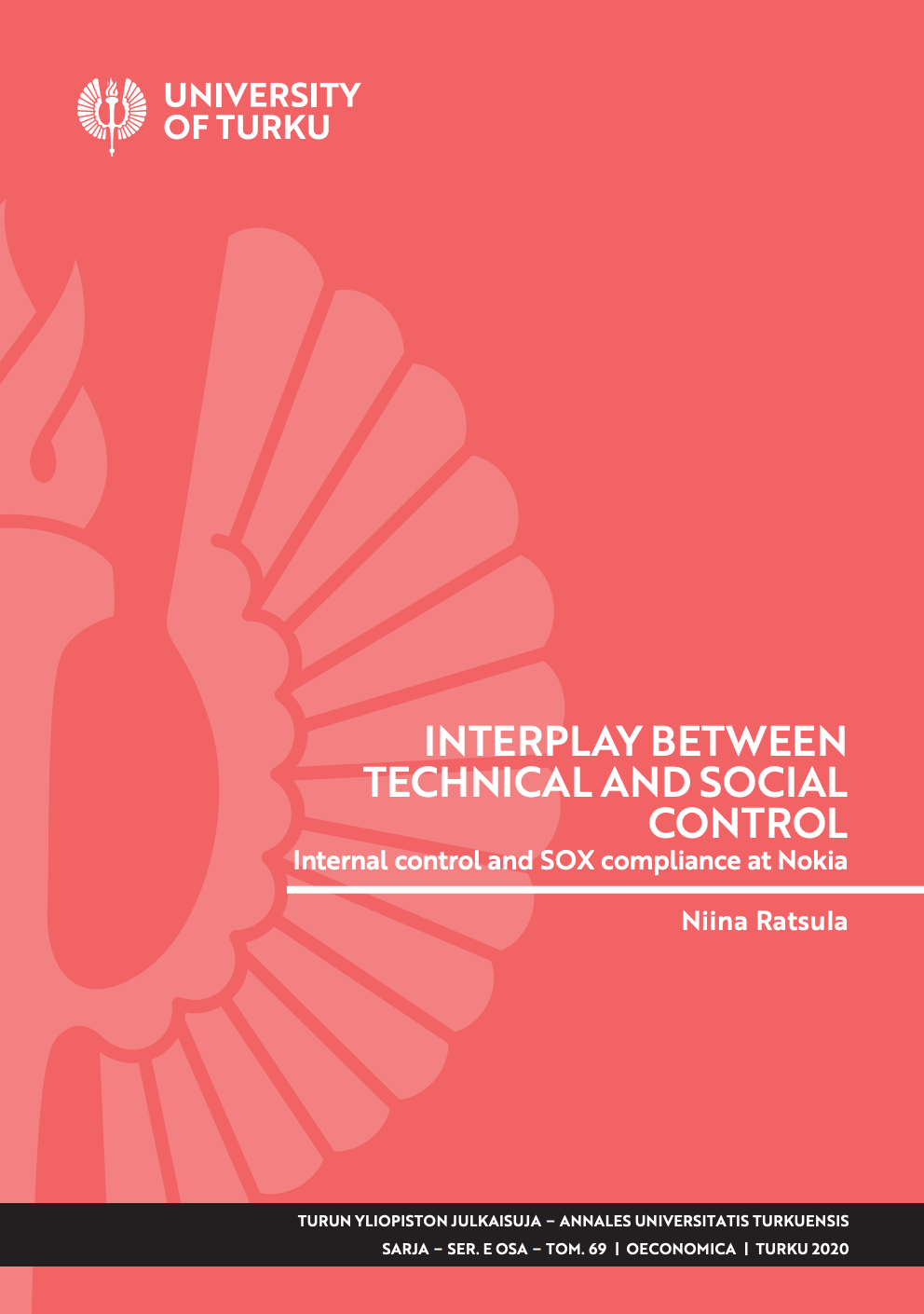 Interplay between technical and social control : Internal control and SOX compliance at Nokia