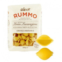 Load image into Gallery viewer, 'CONCHIGLIE RIGATE Nº42 500GR RUMMO - 90GRAMMI