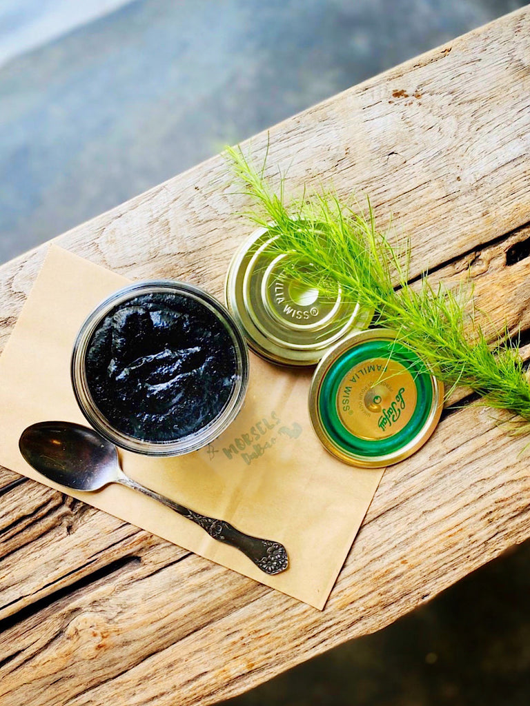 Herb Pesto Nero Sauce