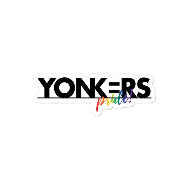 Yonkers Pride Stickers