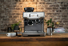 Load image into Gallery viewer, Brushed Stainless Steel Sage the Barista Touch in a lifestyle setting