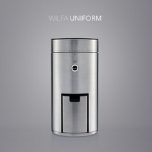Load image into Gallery viewer, Wilfa SVART Uniform Coffee Grinder - WSFB-100S - on grey background
