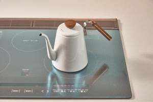 stove top kettle on an electric hob