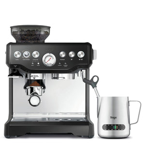 Sage the Barista Express Bean-To-Cup Coffee Machine with Grinder - Black Sesame