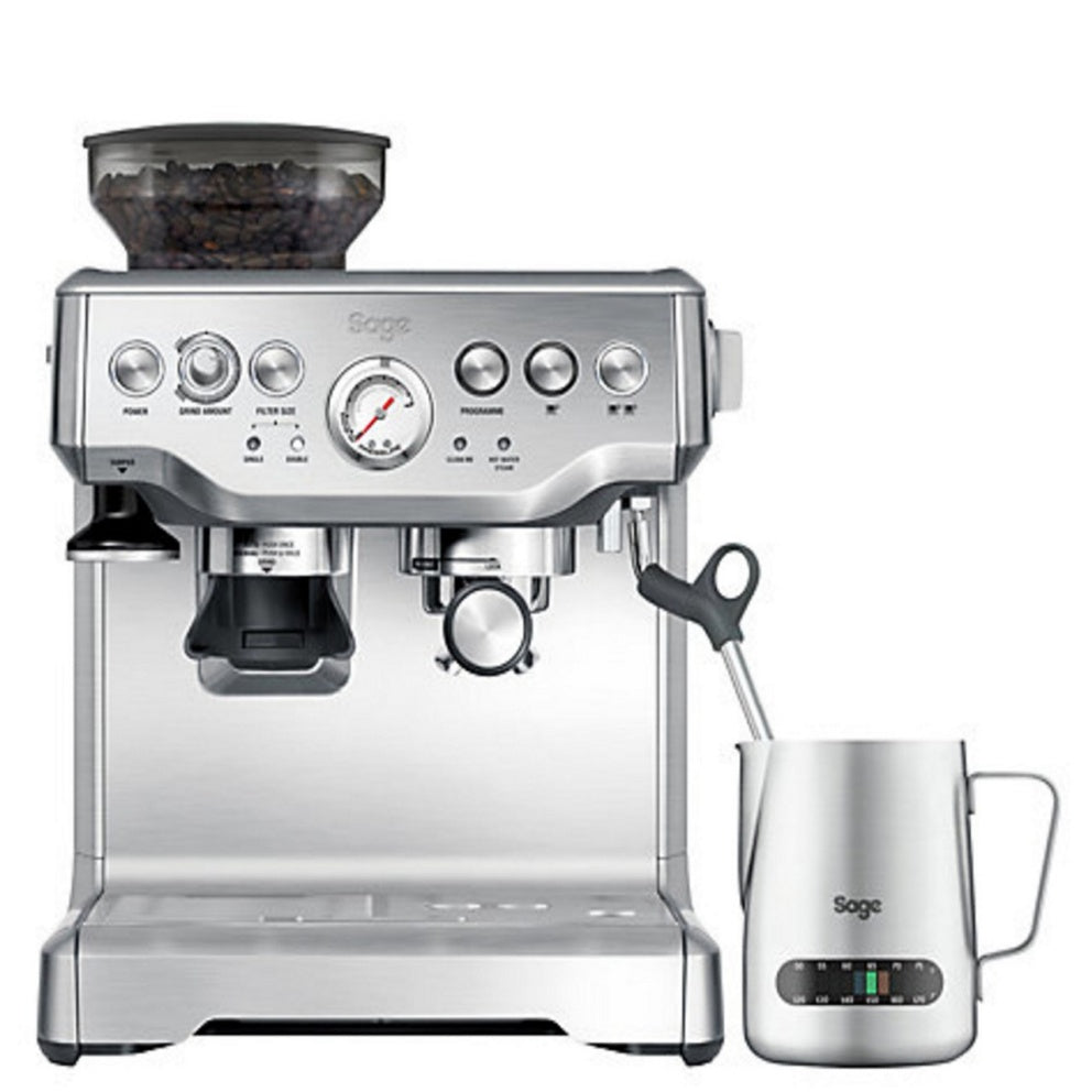 Sage the Barista Express Bean-To-Cup Coffee Machine with Grinder - Brushed Stainless Steel